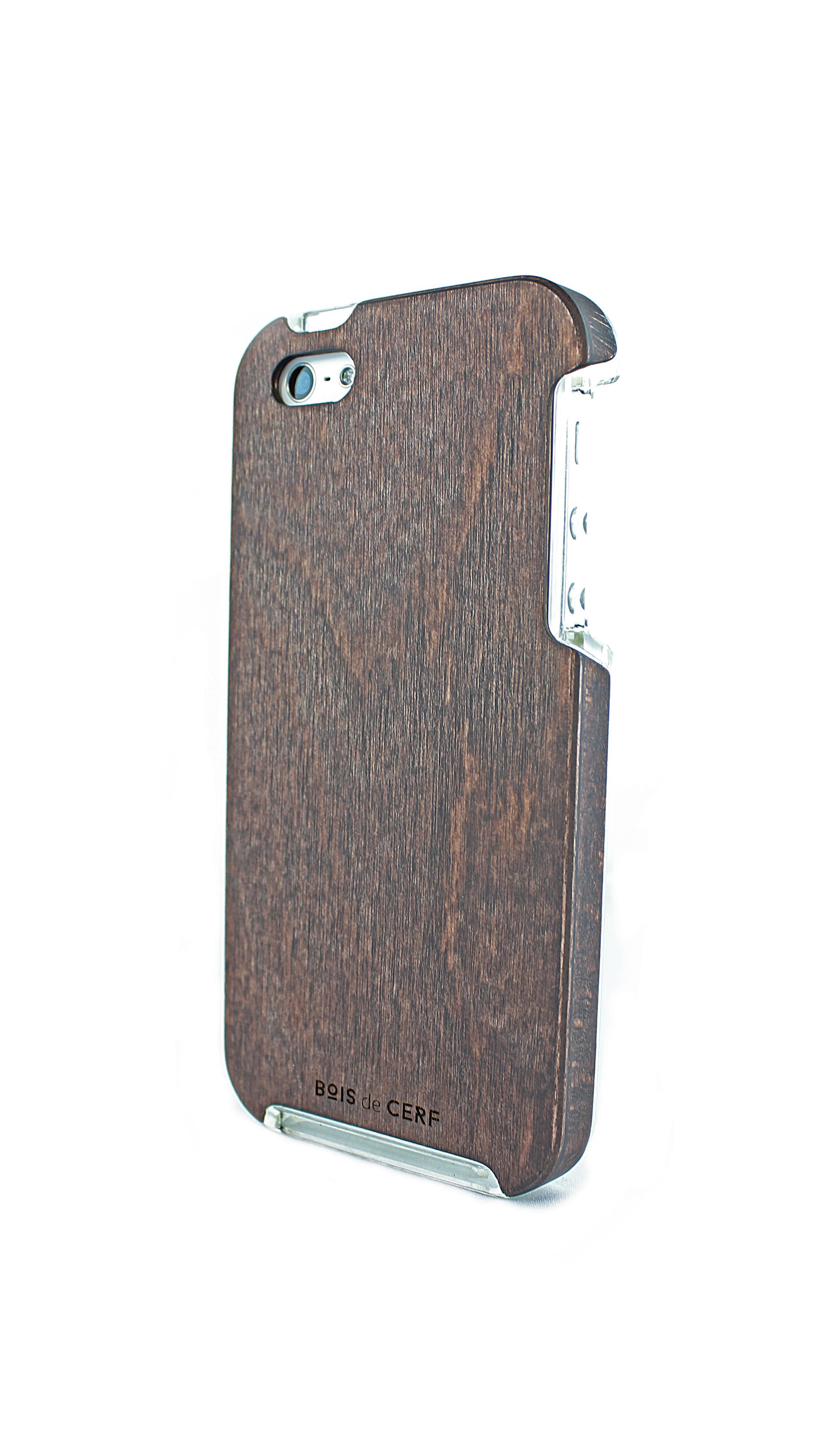 Brâme coque bois iPhone 5/5S - iPhone SE