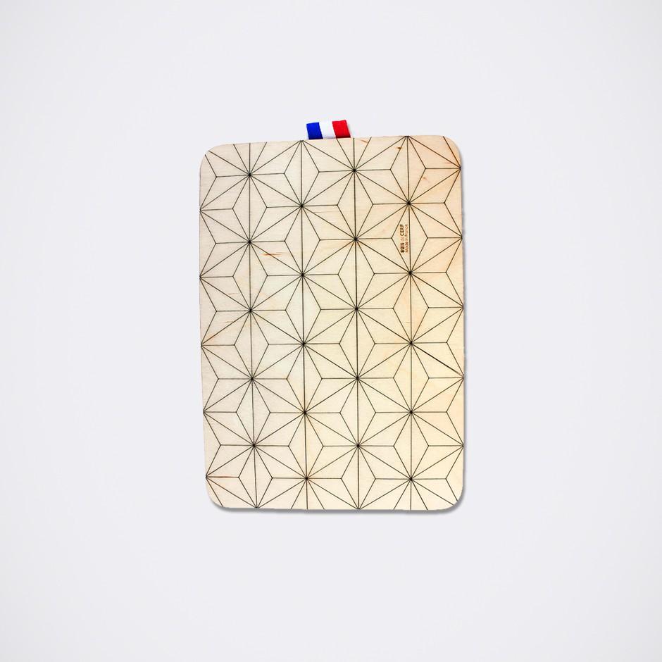 Sleeve wood iPad, iPad mini and iPad Pro