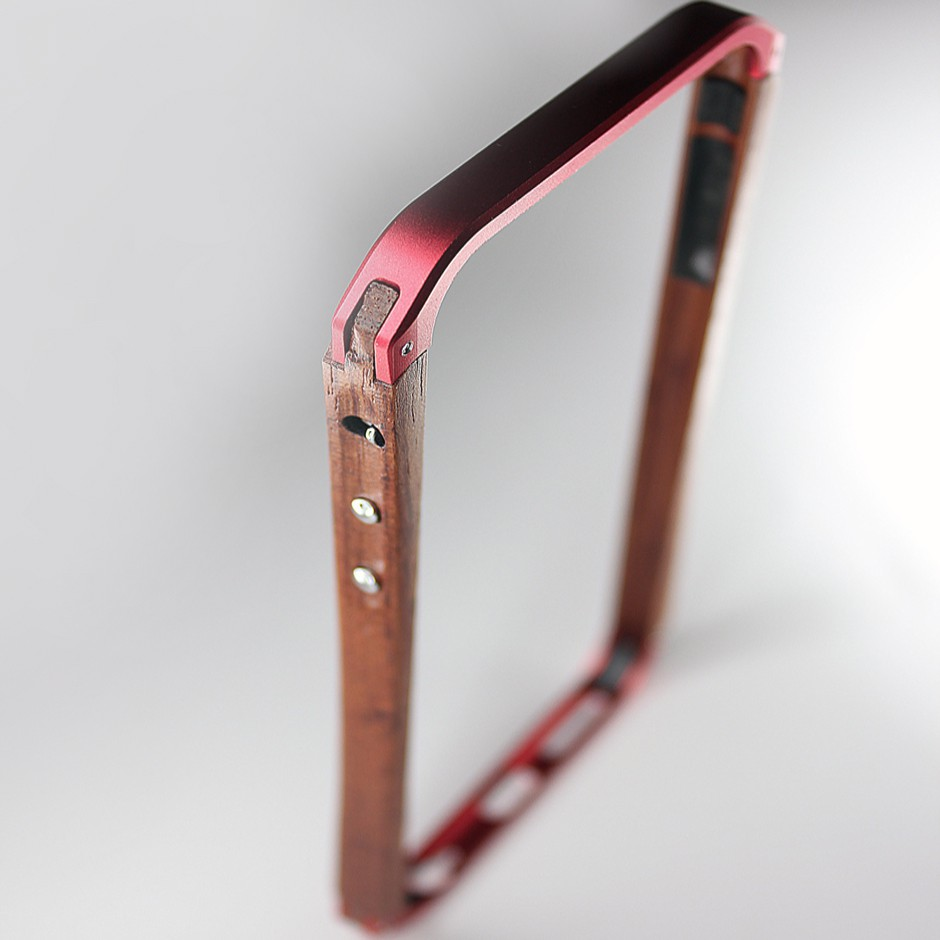 Bumper Bois & Aluminium pour iPhone 6/6S
