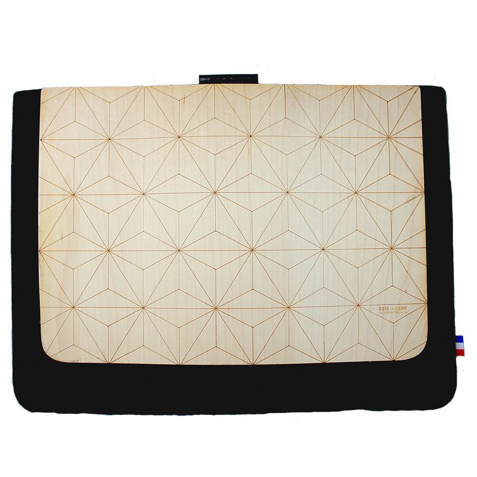 Pochette bois Macbook Air / Ordinateur