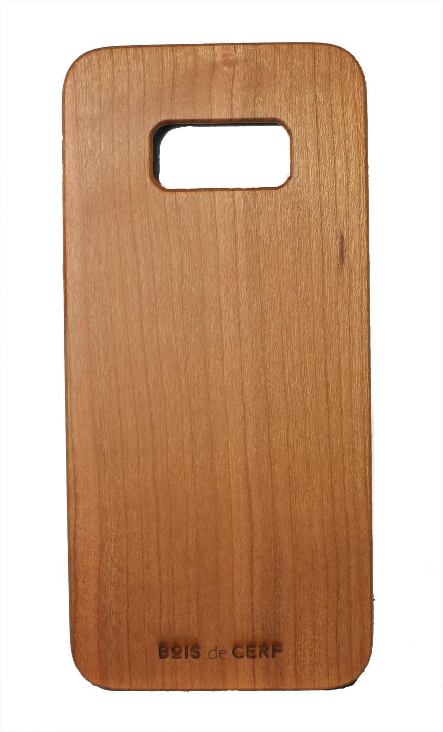 Funda de madera case Galaxy S8