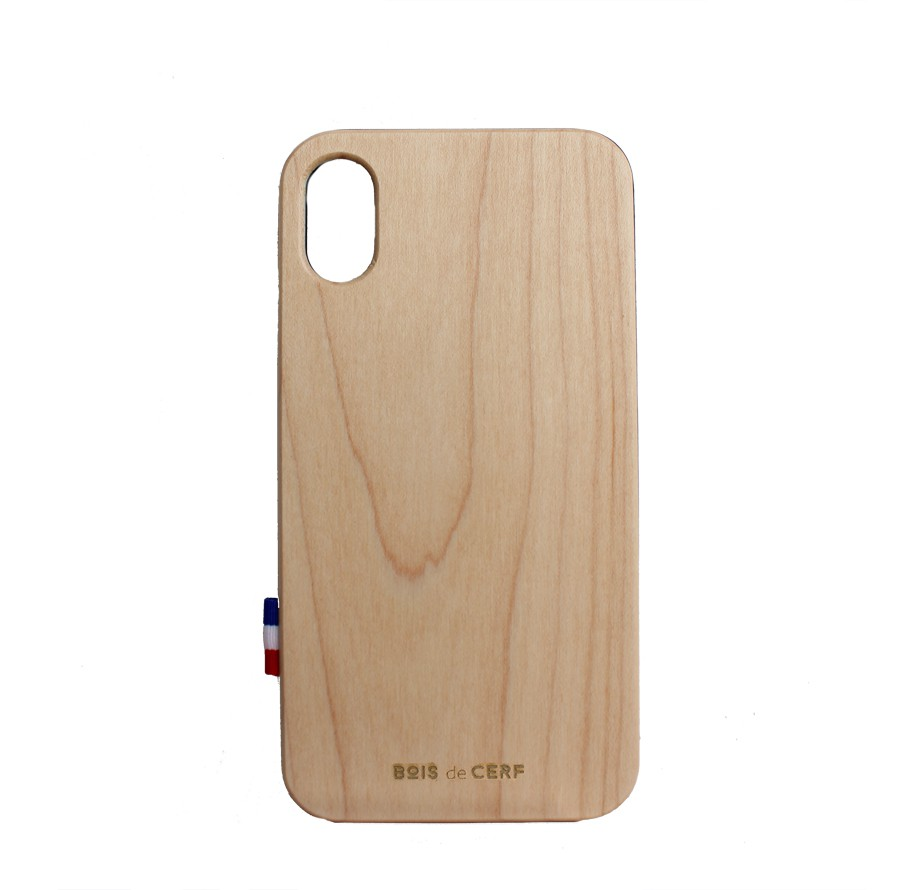 Wooden case iPhone X and iPhone Xs