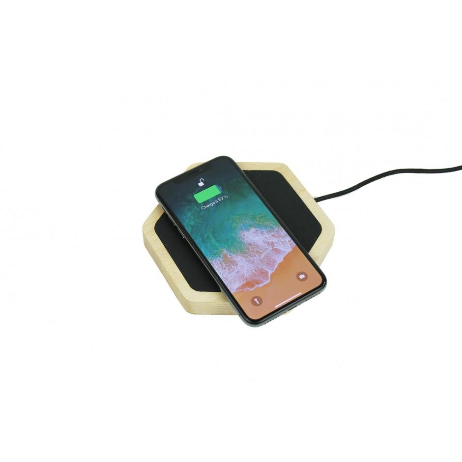 Chargeur à induction socle pour iPhone X et iPhone 8 - QI