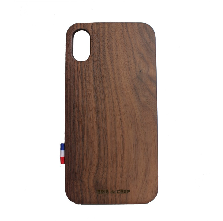 Coque bois iPhone Xr