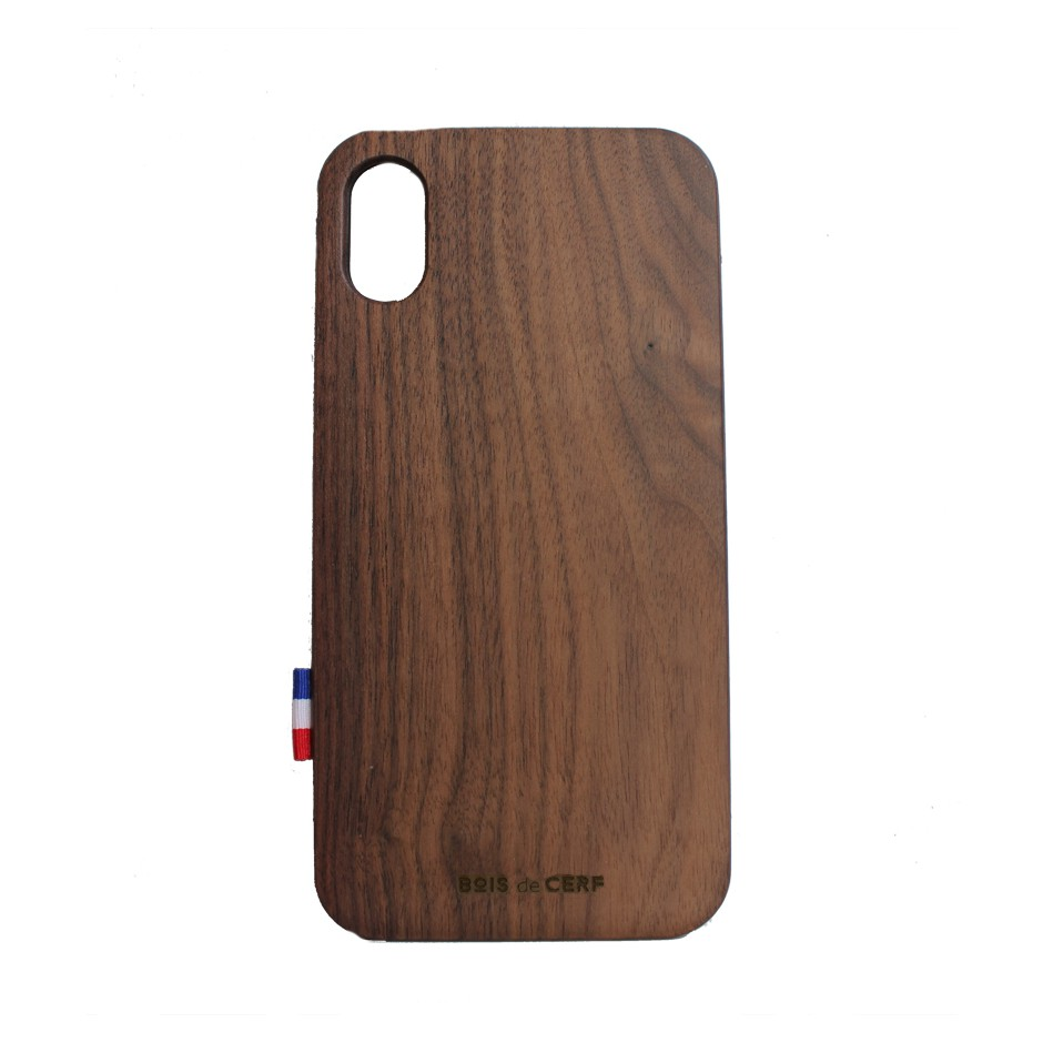Custodia legno iPhone X