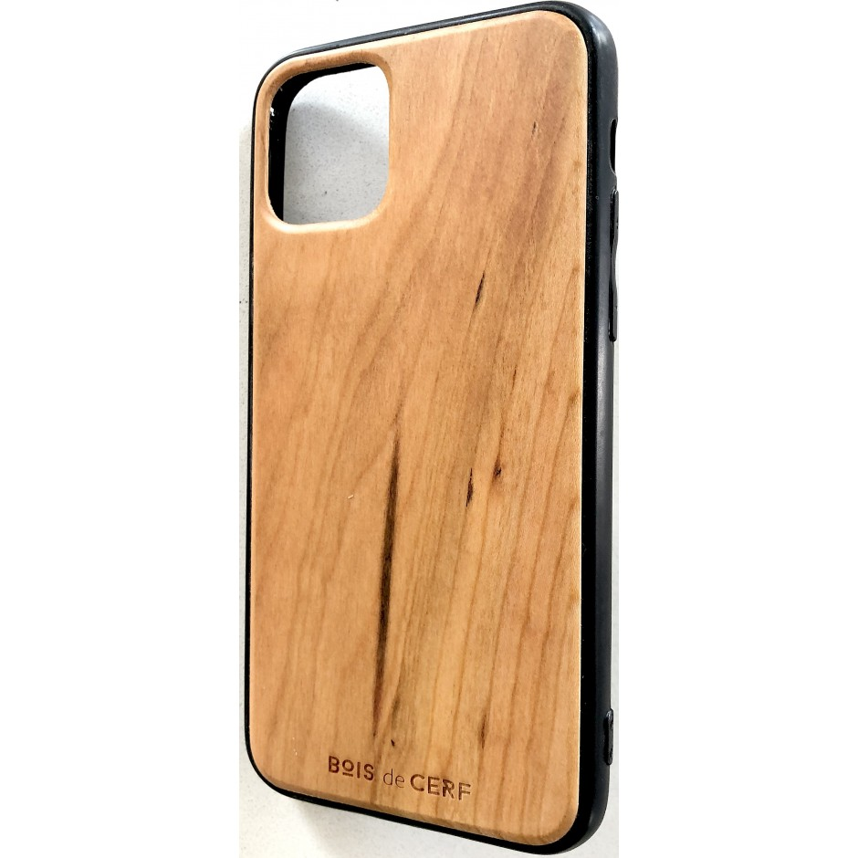 Coque bois iPhone 11 et iPhone 11 pro