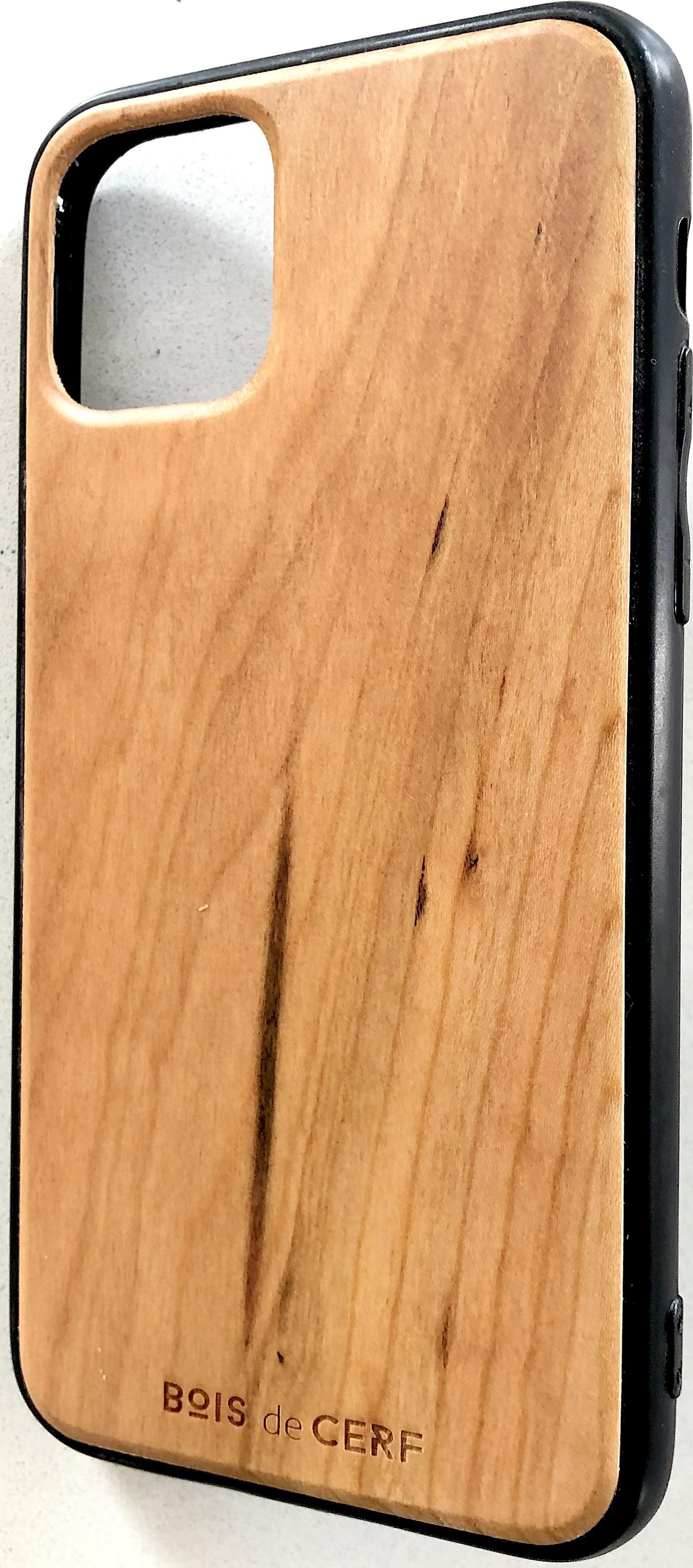 Coque bois iPhone 11 et iPhone 11 pro